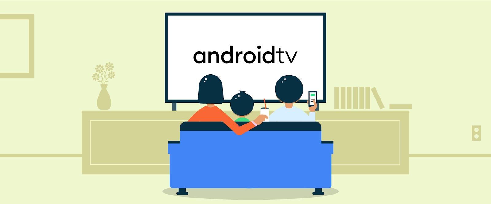 Android 11 pro Android TV představen