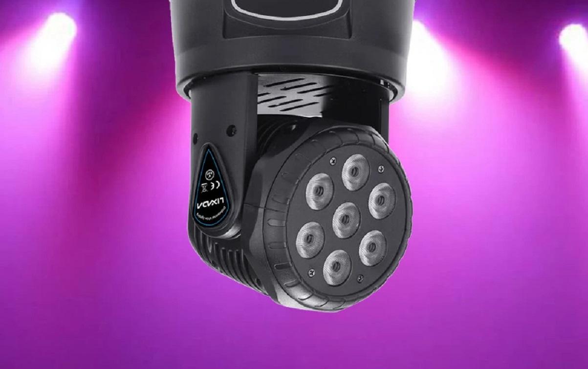 Kupte si výkonné LED světlo s otočnou hlavou [sponzorovaný článek]