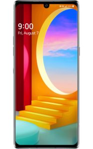 LG VELVET 5G Aurora Gray frontimage 934x1500x