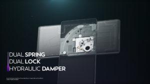 LG WING Hydraulic Damper 1200x675x