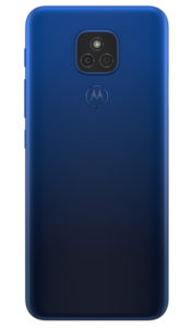 Moto E7 Plus MISTY BLUE BACKSIDE 358x609x