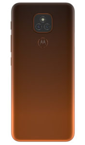 Moto E7 Plus TWILIGHT Orange BACKSIDE 358x609x