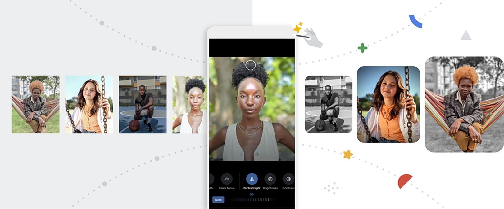 Google Fotky s novým editorem a funkcemi pro platící