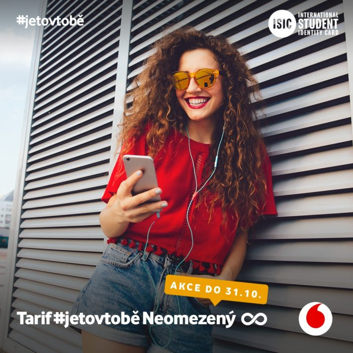 Vodafone jetovtobe Neomezeny 1080x1080x Datově neomezený tarif