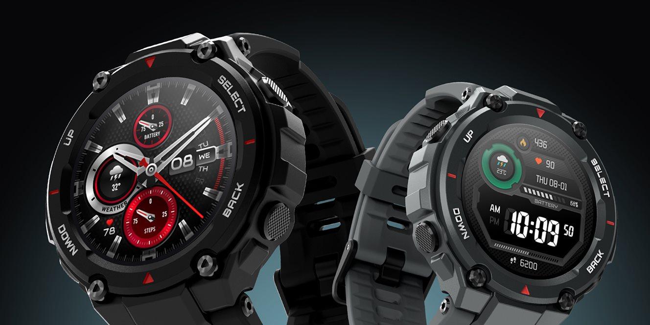 Amazfit T-Rex chytré hodinky za super cenu [sponzorovaný článek]