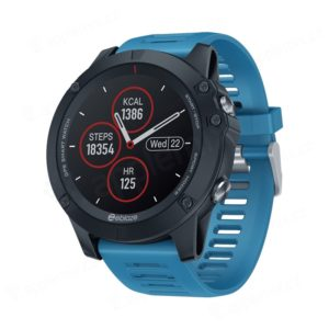 fitness chytre hodinky zeblaze vibe 3 ips kruhovy ips displej bluetooth gps vodotesne modre 800x800x