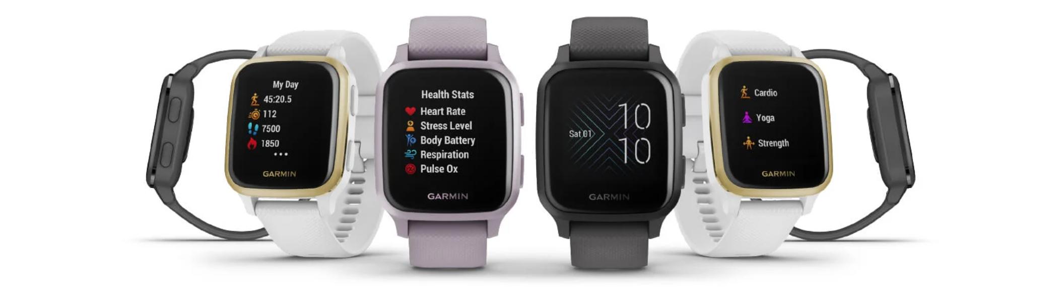 Garmin Venu Sq: Další hodinky vypadající jako Apple Watch