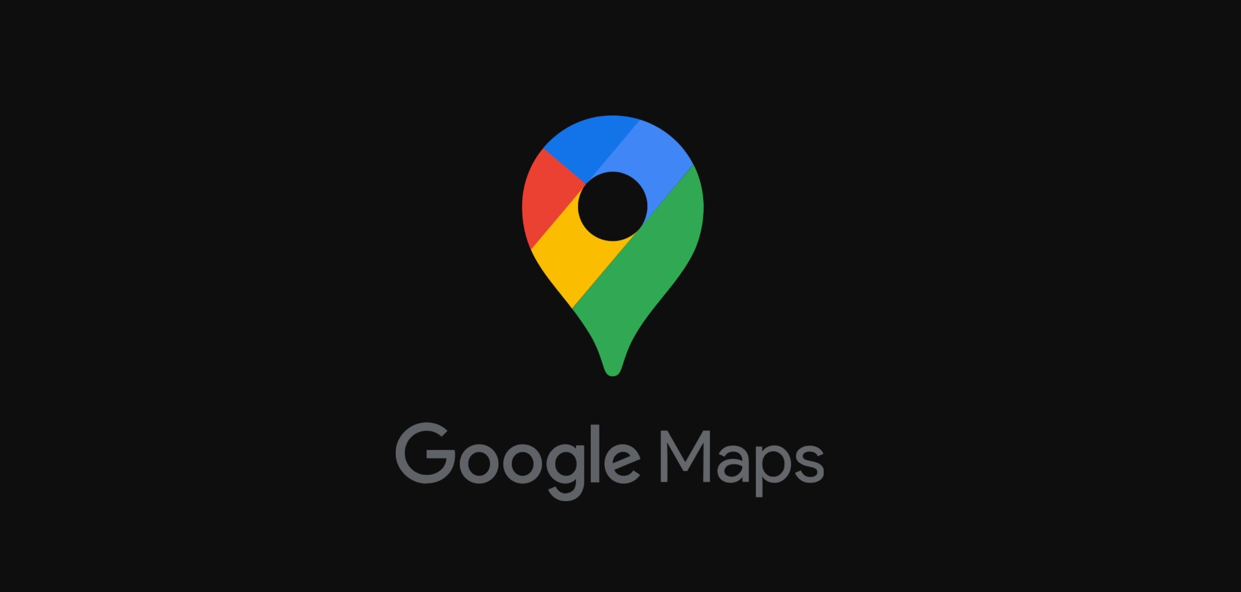 Google Mapy začínají dostávat tmavý vzhled