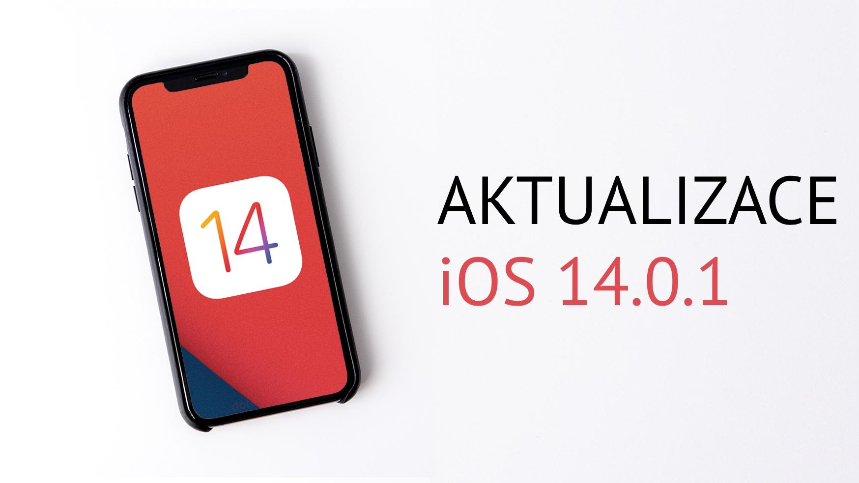 Vychází iOS 14.0.1, opravuje otravné chyby