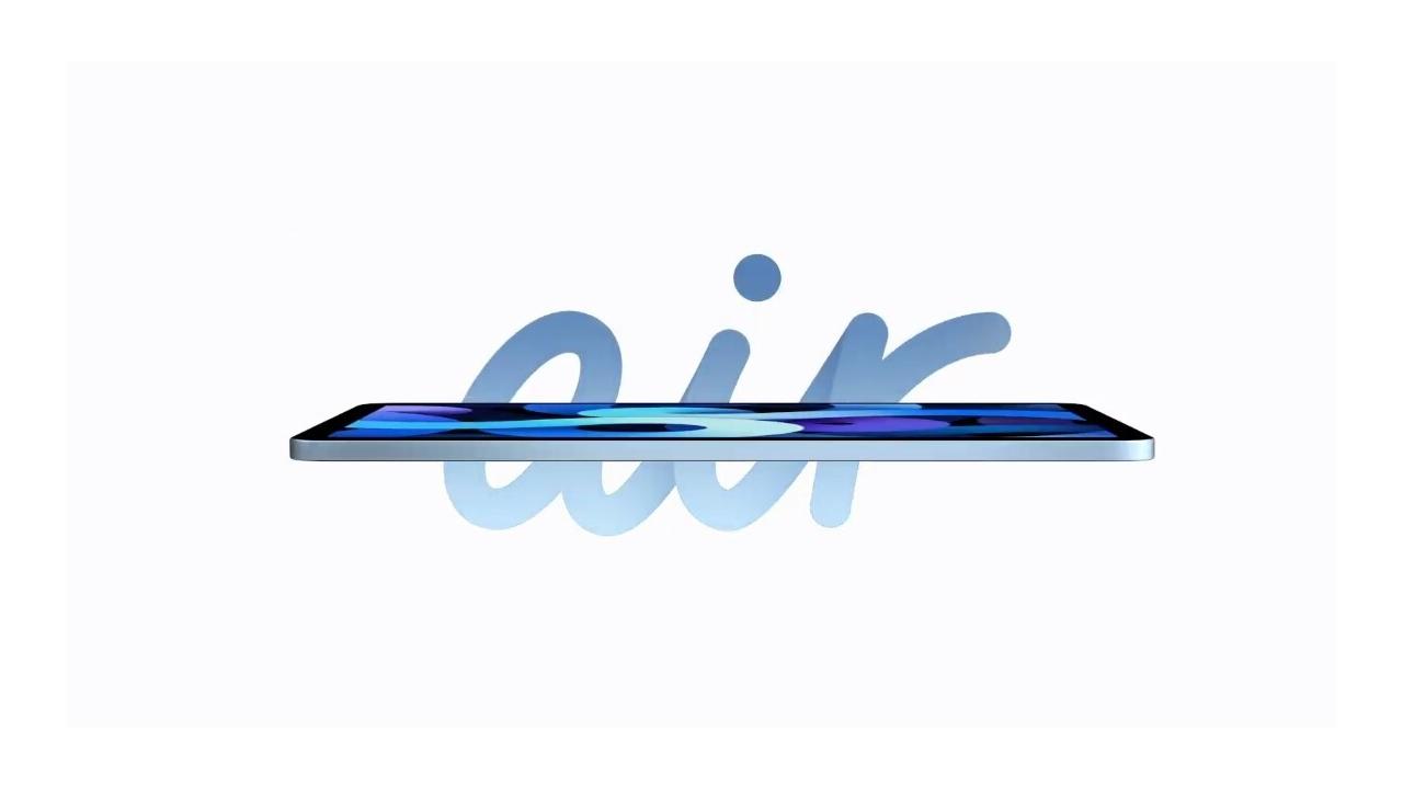 iPad Air 2020: poprvé s Touch ID na boku, cena začíná na 16 990 Kč