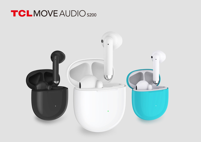 TCL představilo bezdrátová sluchátka MOVEAUDIO S200