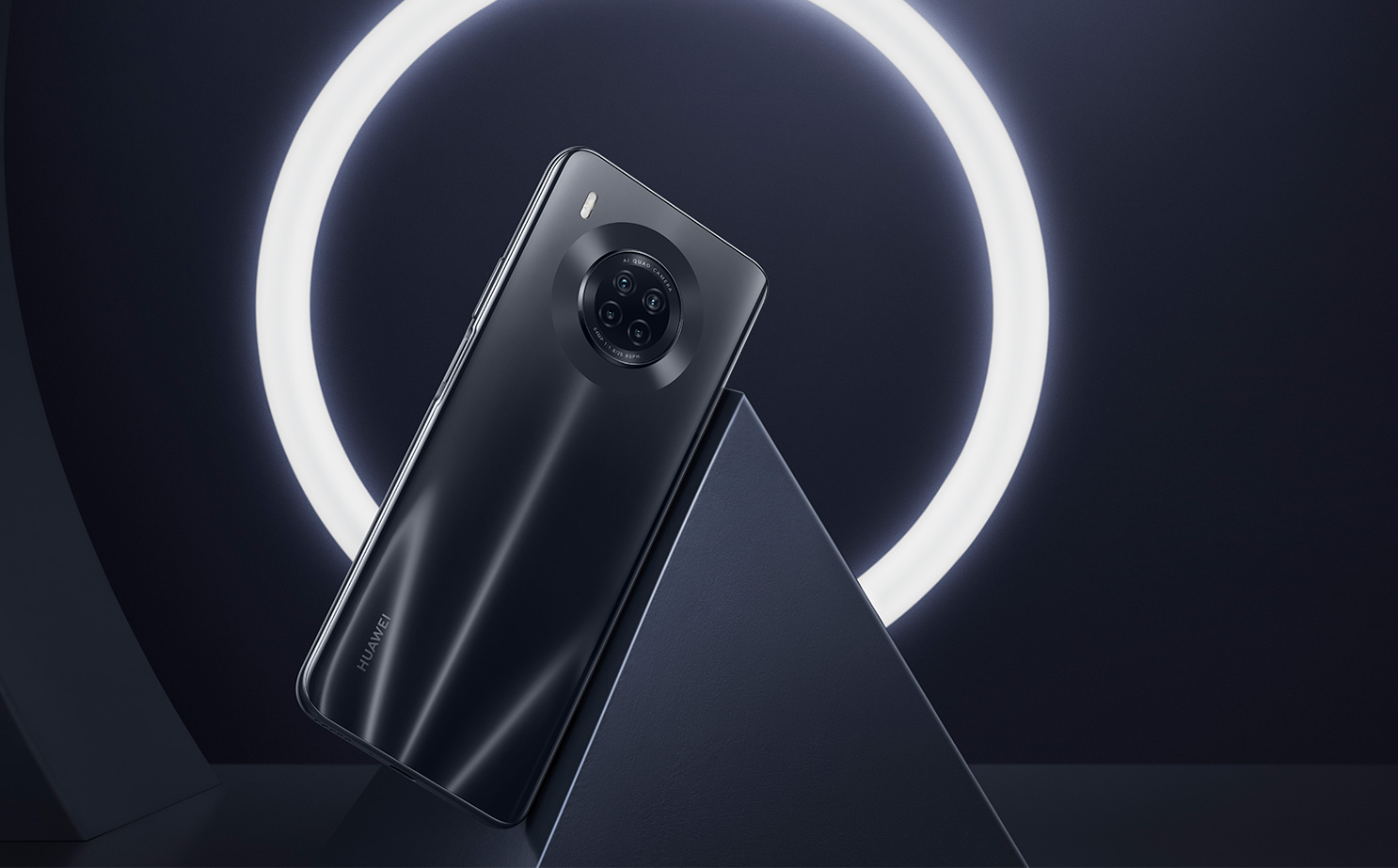 Huawei Y9a oficiálně: MediaTek Helio G80 a vyjížděcí selfie kamera
