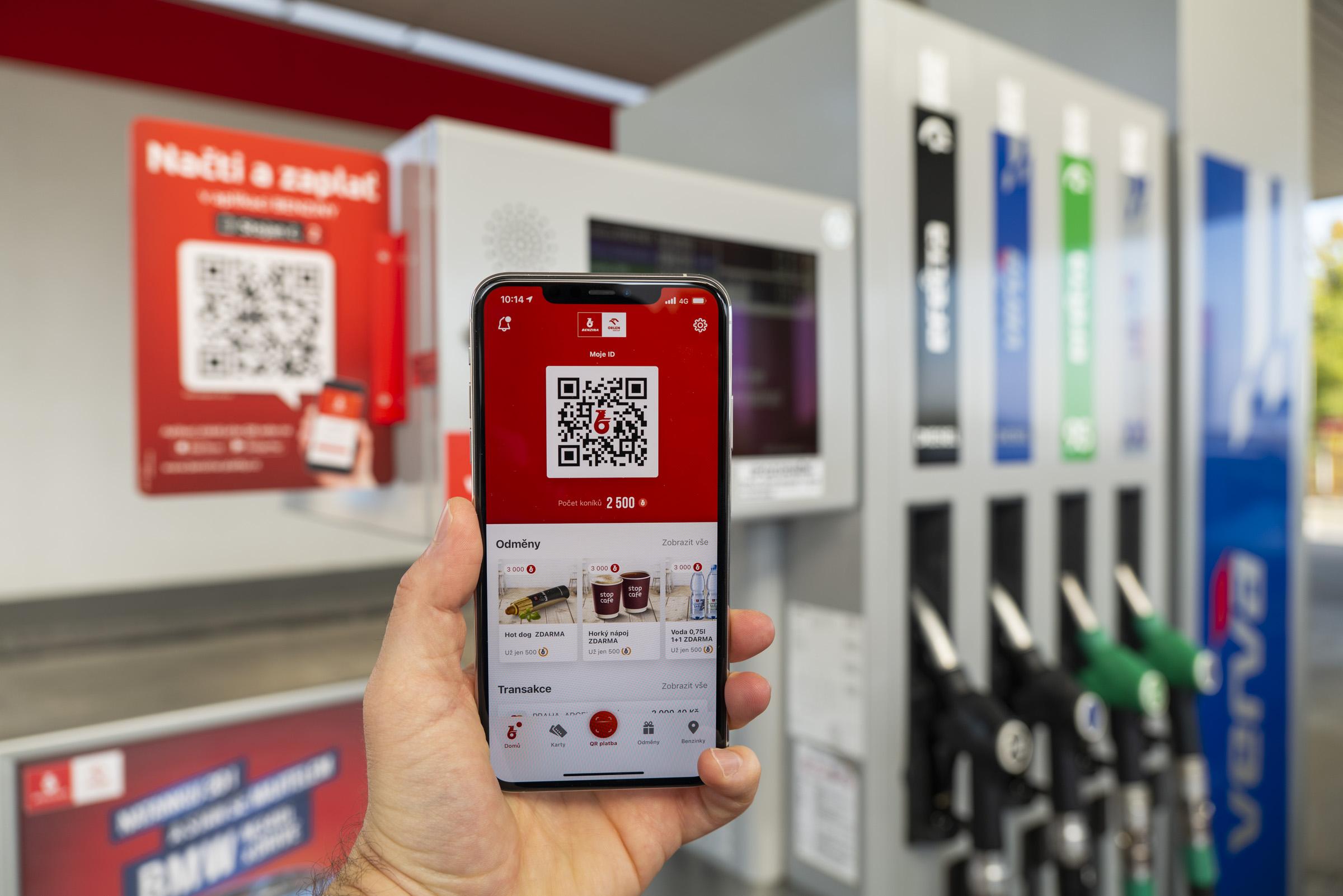 Benzina spustila novou mobilní aplikaci s mnoha výhodami