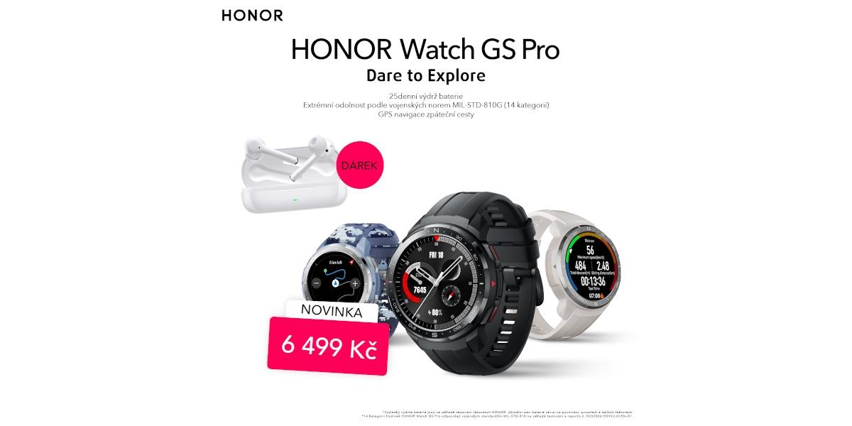 Nové Honor hodinky s dárkem v hodnotě 2 990 Kč teď na Smarty [sponzorovaný článek]