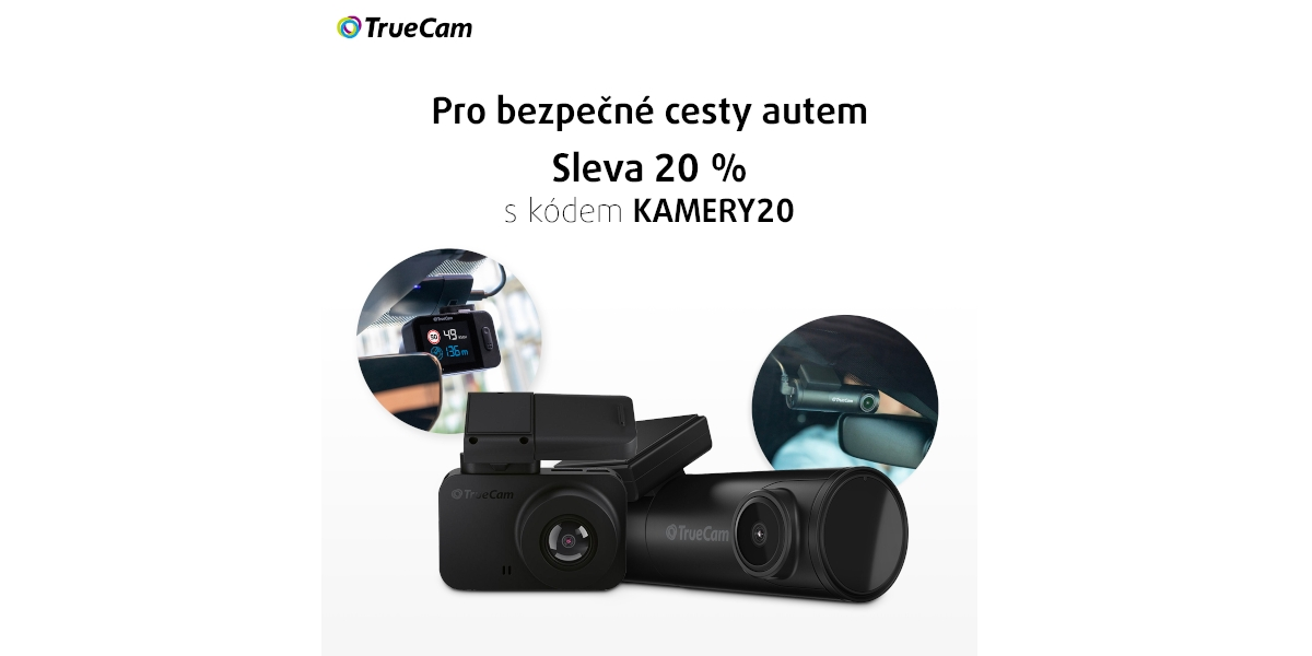 Smarty rozjelo 20% akci na autokamery TrueCam [sponzorovaný článek]