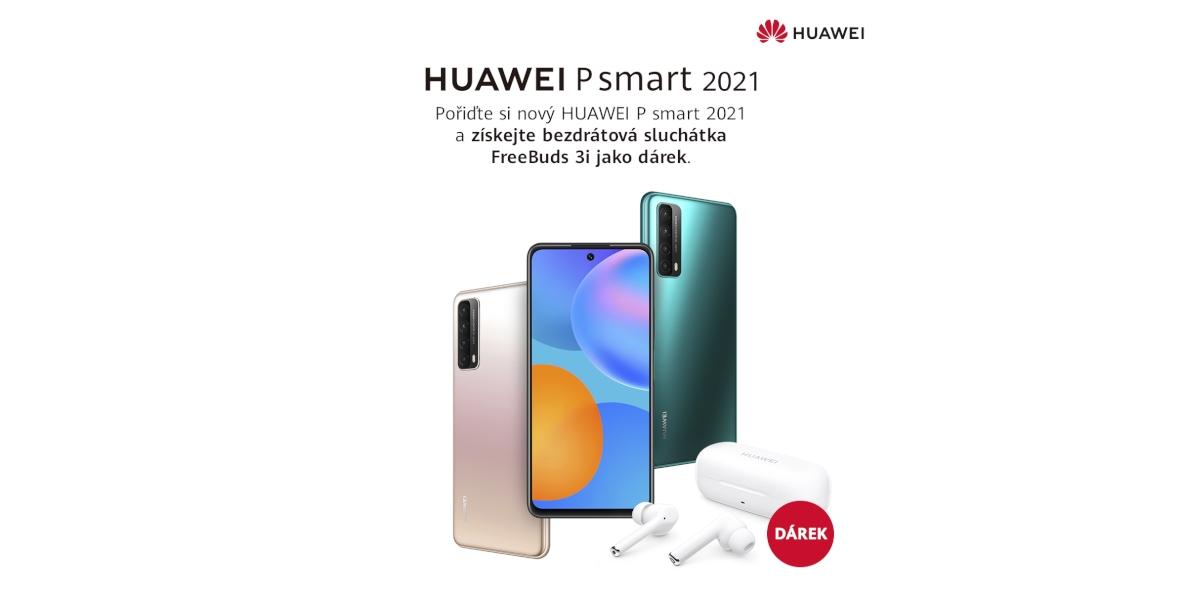 Huawei P Smart 2021 – telefon pro rok 2021[sponzorovaný článek]