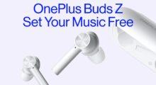 OnePlus Buds Z jsou nová levnější bezdrátová sluchátka
