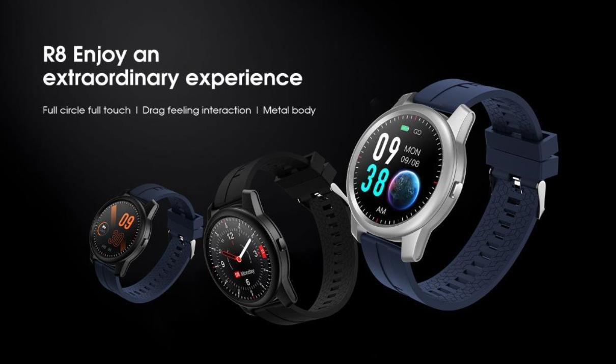 Nové hodinky Elephone R8 lákají na nízkou cenu