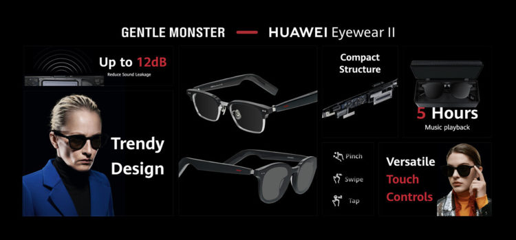 Huawei Eyewear II Gentle Monster 1200x559x