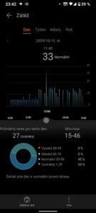 Huawei Watch Fit aplikace stres 379x843x