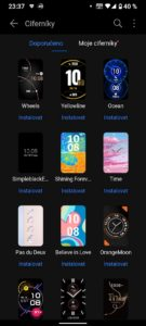 Huawei Watch Fit ciferniky 406x903x