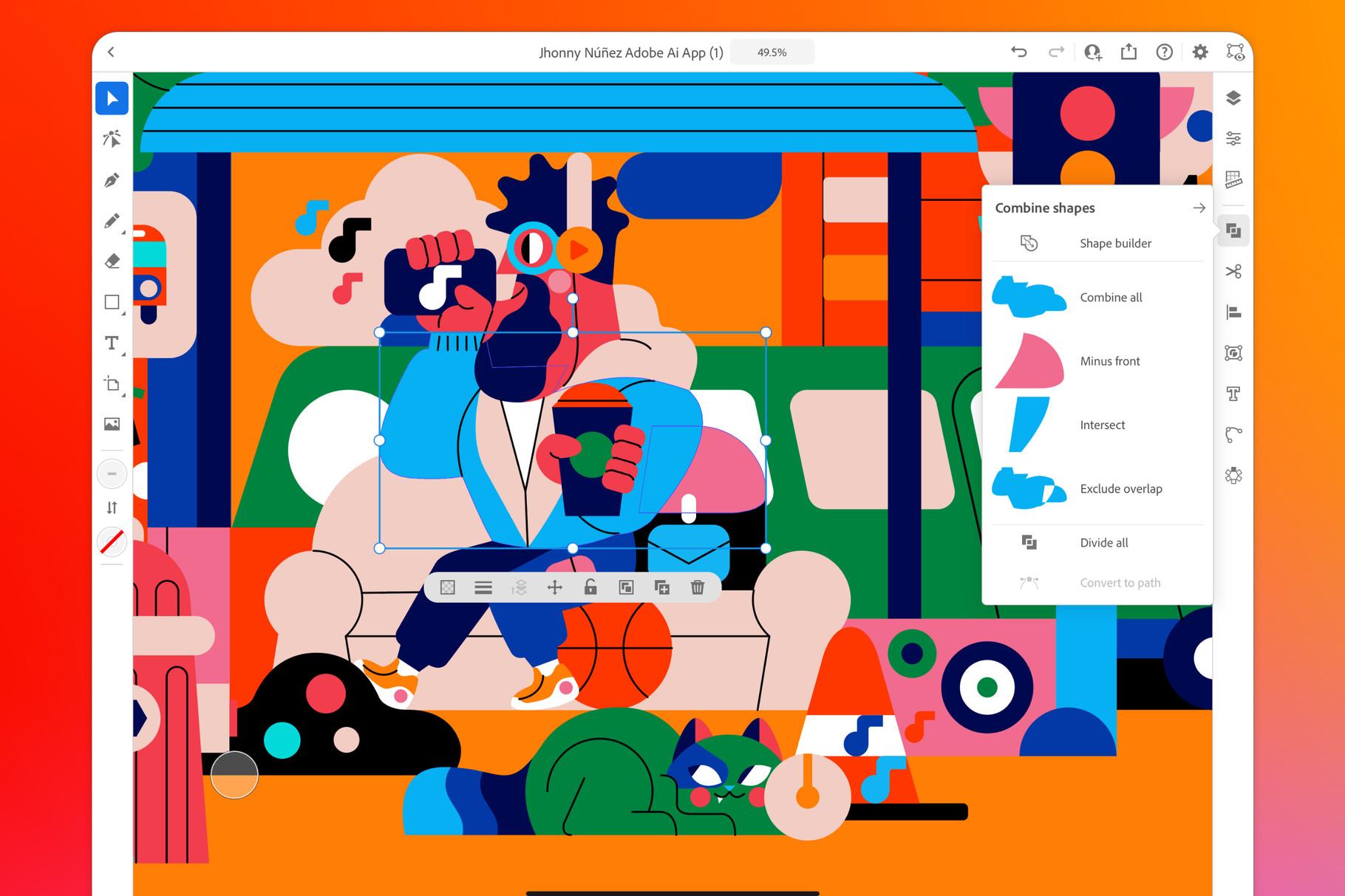 Illustrator pro iPad přichází ve finální verzi