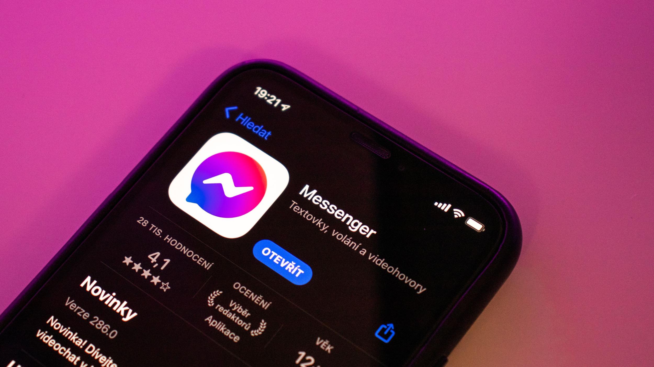 Messenger a tmavý vzhled – chystá se jedna změna [aktualizováno]