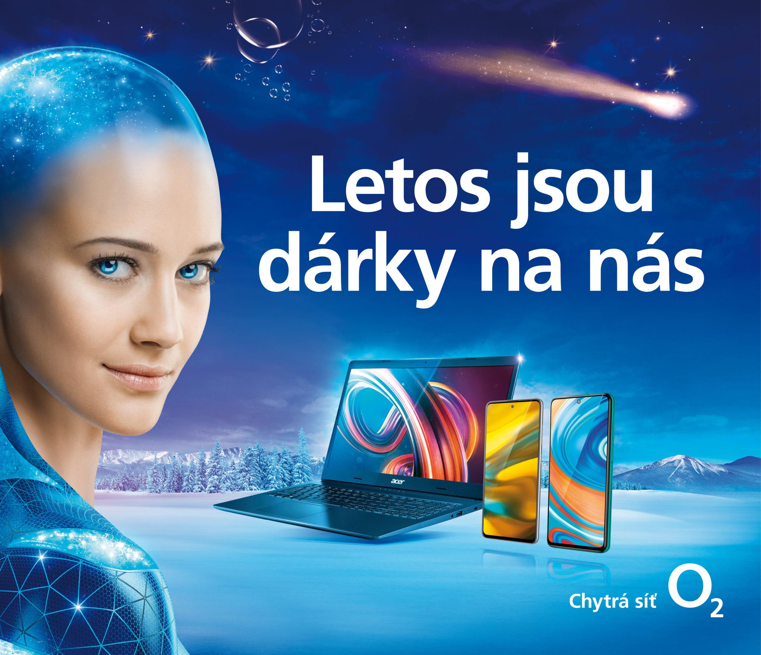 O2 Vánoce – letos o prodeji mobilů a dalších zařízení