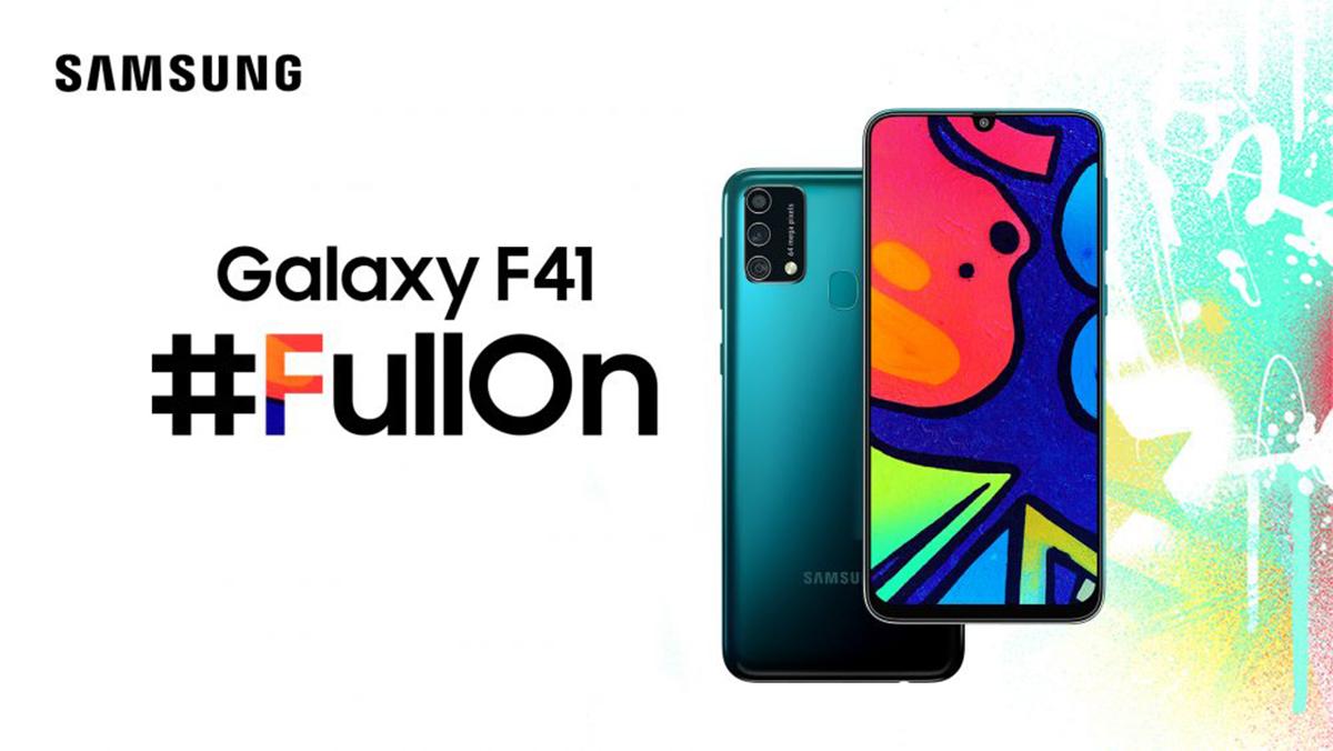 Samsung Galaxy F41 je novinka s 6000mAh baterií