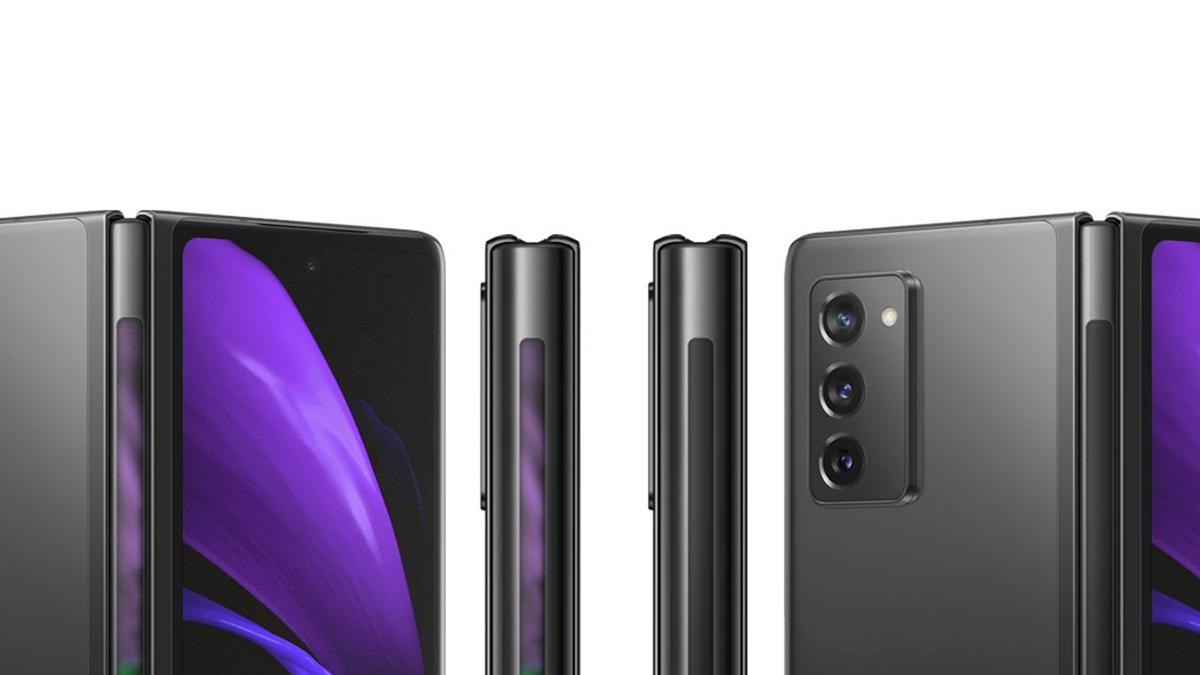Samsung si pohrává s designem Galaxy Z Fold 2