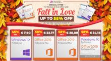 Velká podzimní akce na Keysoff.com: Windows 10 pouze za 6,70 €, Office pak za 14,74 € [spoonzorovaný článek]