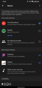 google assistant music providers 2 1440x3040x