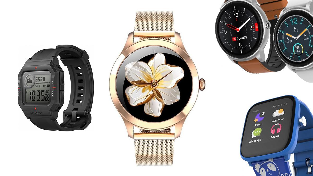 Chytré hodinky nově v obchodech – plejáda levných modelů
