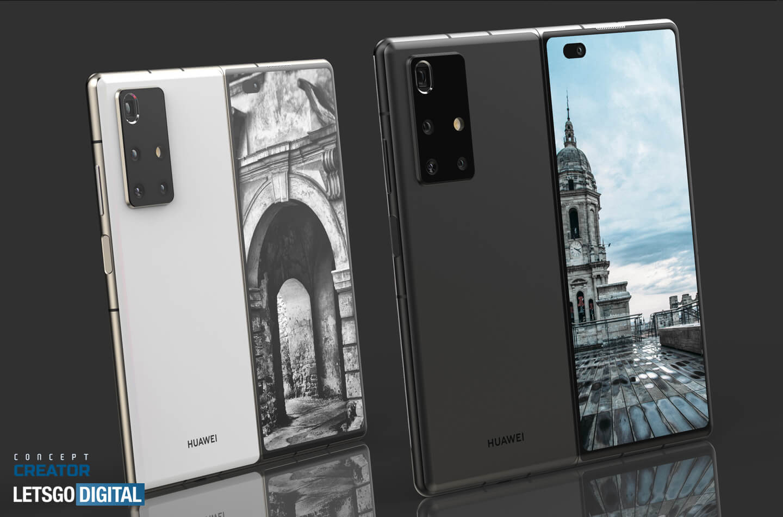 Huawei Mate X2 by se mohl podobat Z Fold 2