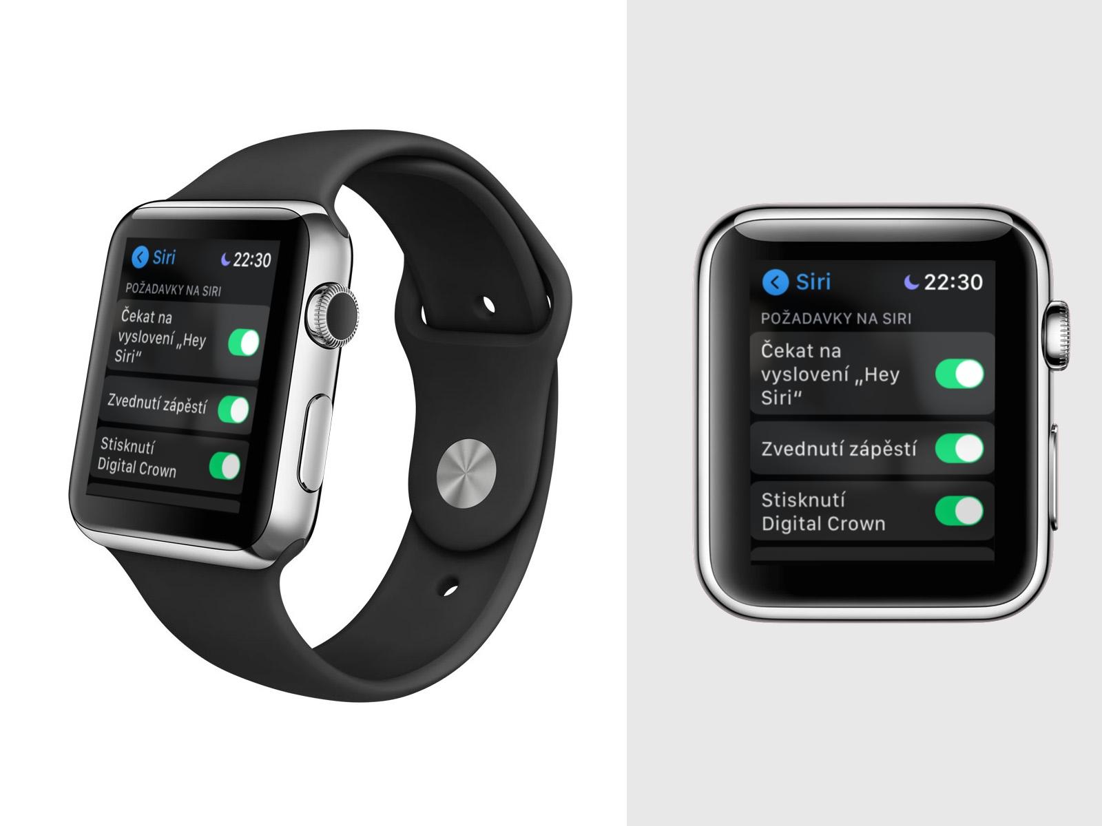Apple Watch – jak nastavit a použít Raise to Speak [návod]