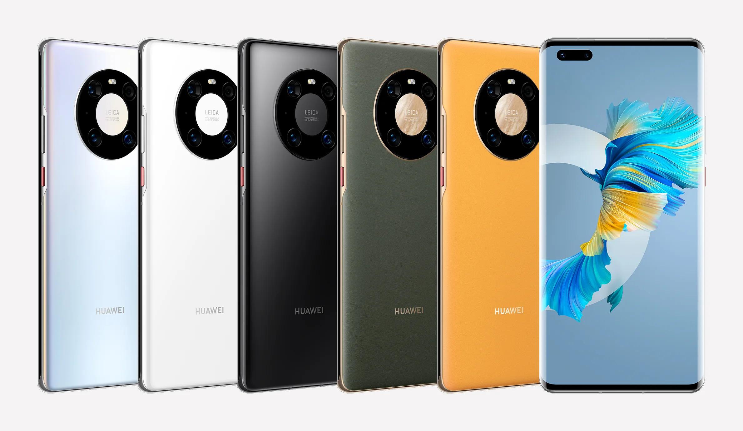 Huawei pracuje na Mate 40E, upravené verzi Mate 40