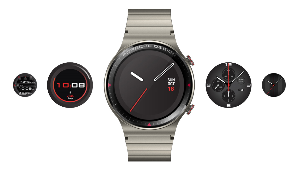 Luxusní hodinky Porsche Design Huawei Watch GT 2 představeny