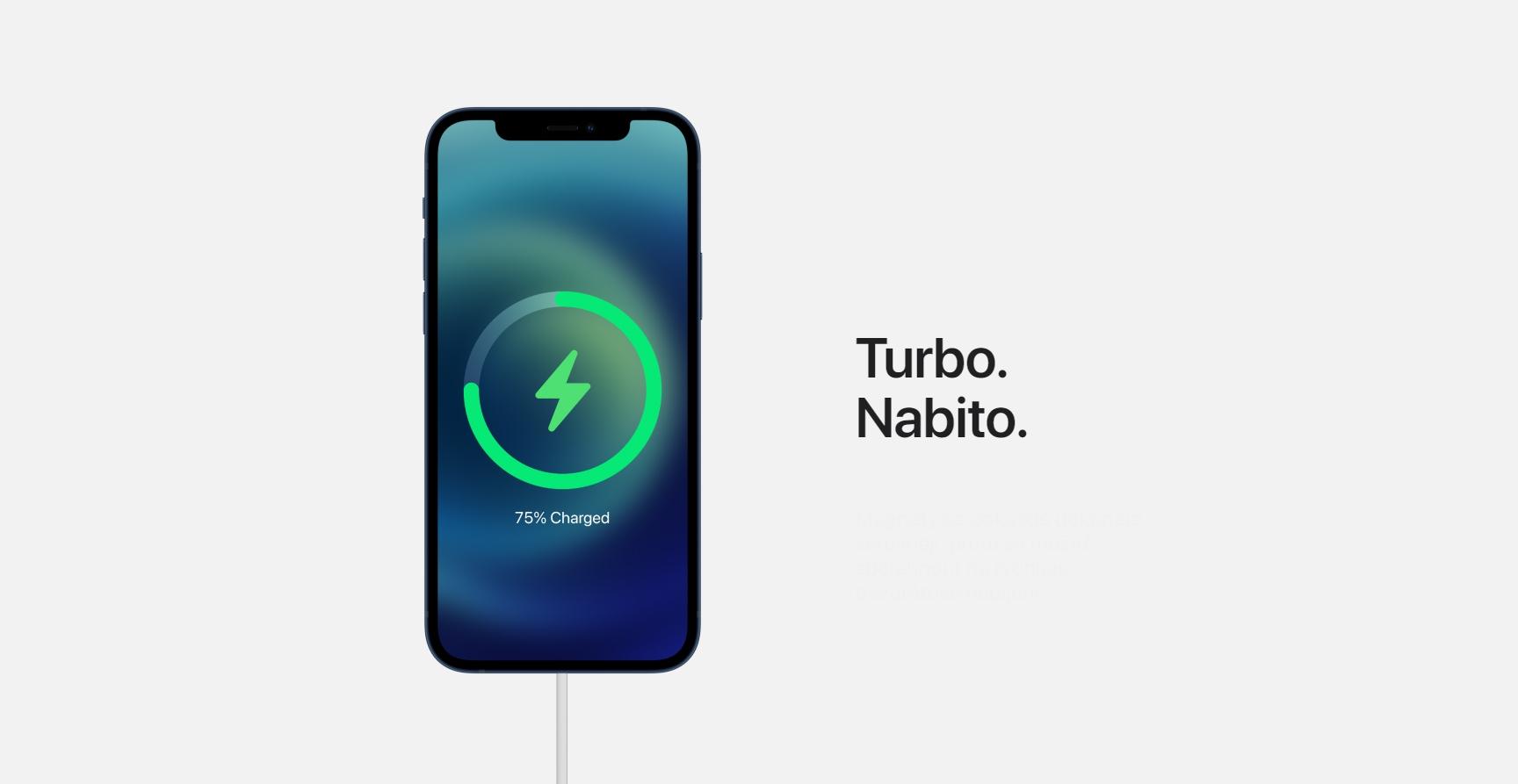 Přes MagSafe se nový iPhone 12 nabíjí dvakrát pomaleji než to zvládne kabelem