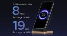 Xiaomi představilo 80W bezdrátové nabíjení
