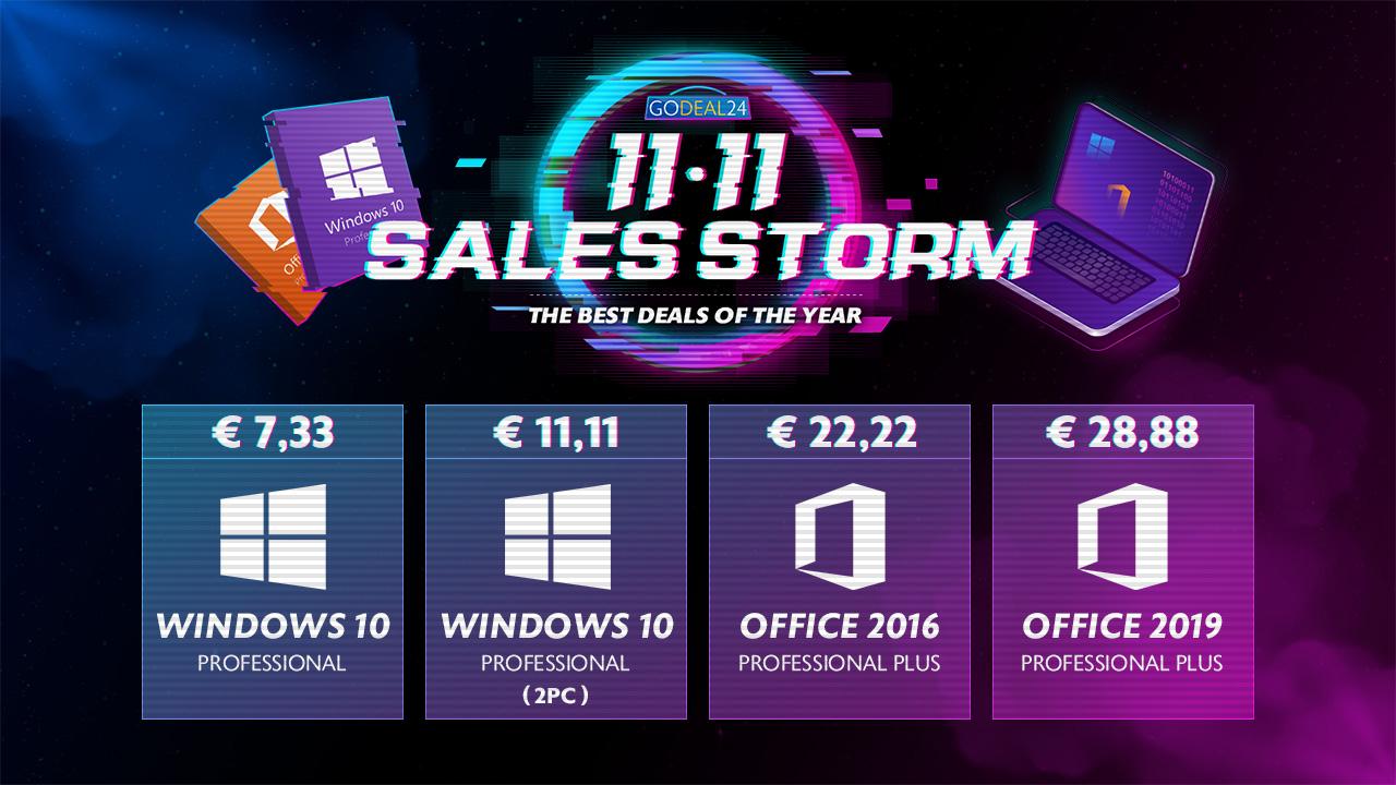 Velké slevy na GoDeal24 k 11.11. – získejte Windows 10 za 149 Kč a nejen to! [sponzorovaný článek]