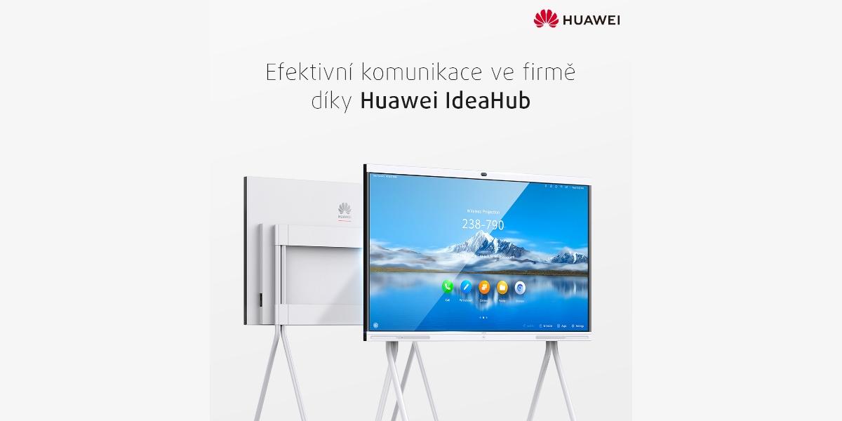 Huawei IdeaHub, inteligentní řešení pro vaši kancelář [sponzorovaný článek]