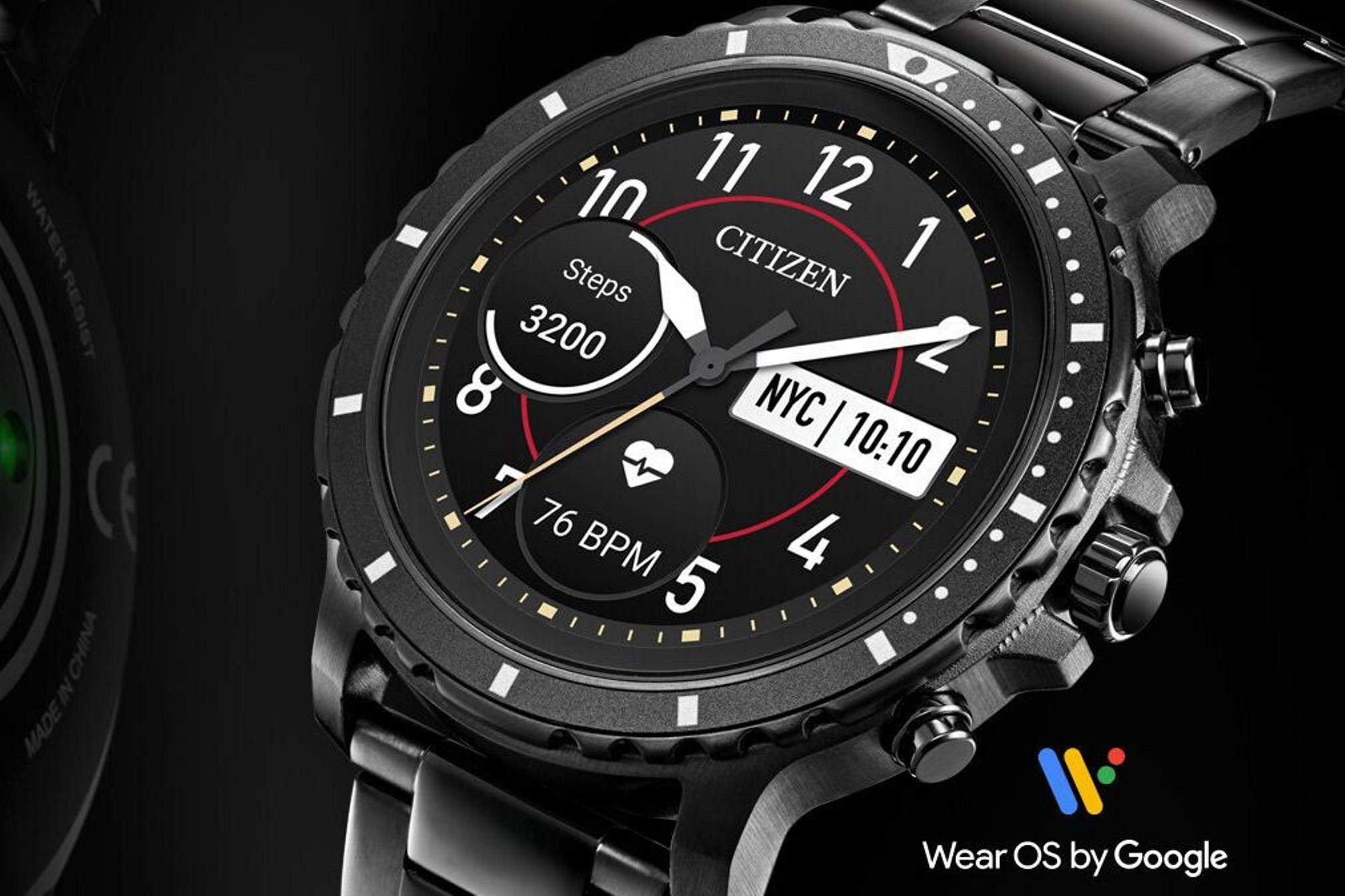 Citizen uvedlo své první chytré hodinky CZ Smart