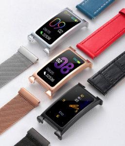 Chytry kovovy fitness naramek Smartomat Silentband 2 chytre hodinky 4 1200x1400x