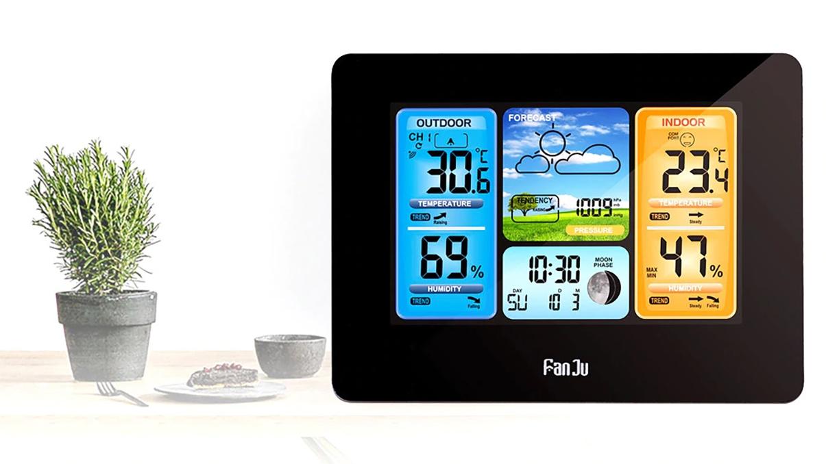 Multifunkční meteorologická stanice s bezdrátovým senzorem teploty v akci! [sponzorovaný článek]