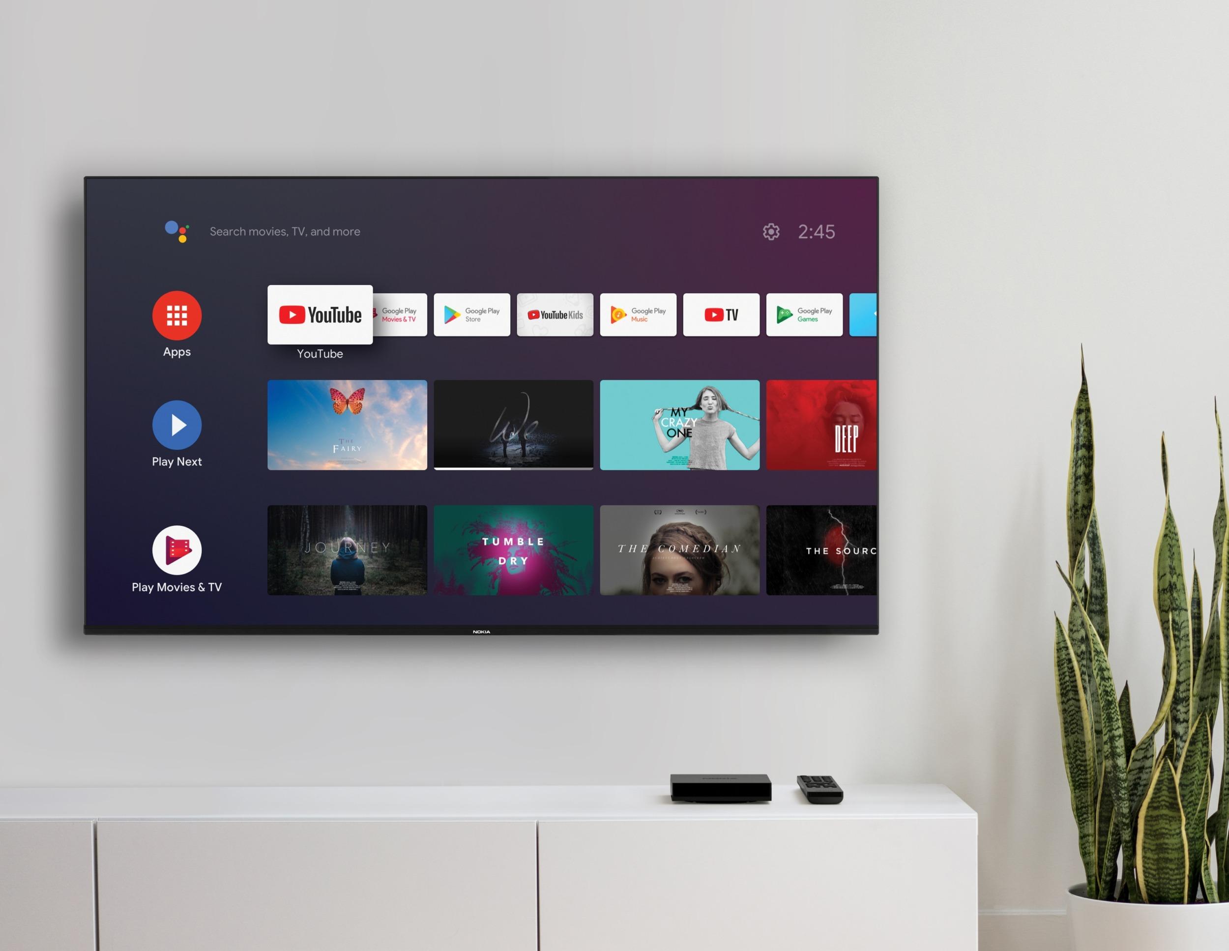 Nokia Streaming Box 8000 – nová Android krabička k TV