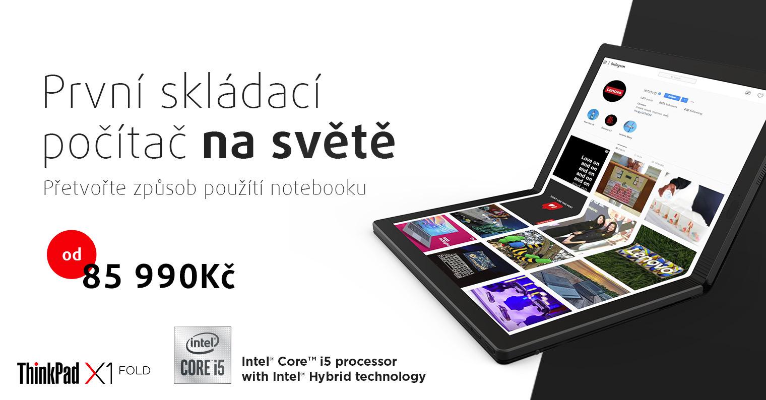 Revoluční notebook Lenovo ThinkPad X1 Fold brzy v prodeji u Smarty [sponzorovaný článek]