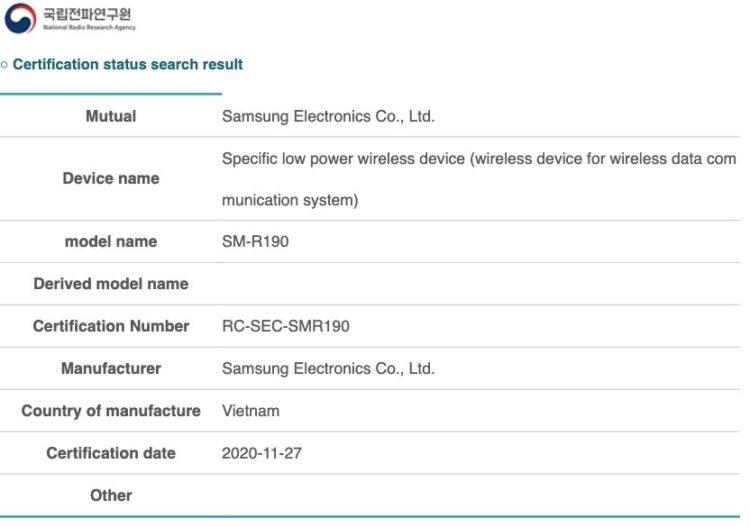 Samsung Galaxy Buds Beyond SM R190 832x585x