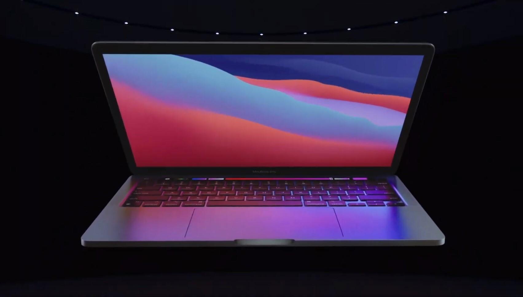 Nový 13palcový MacBook Pro uveden, nabízí ARM procesor s 20hodinovou výdrží baterie