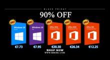 Black Friday: Windows 10 od 190 Kč a balíček Office od 542 Kč [sponzorovaný článek]