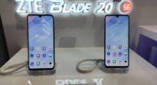 ZTE představilo modely Axon 20 4G a Blade 20 Pro 5G